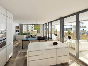 106-300x225 Realistische Visualisierungen Innenraum Immobilien Küche
