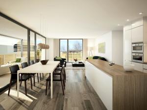 108-300x225 Realistische Visualisierung Innenraum Immobilien Küche