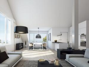 120-300x225 Moderne Wohnung - Realistische Visualisierung Innenraum