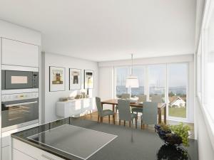 121-300x225 Visualisierung Innenraum Essbereich Küche