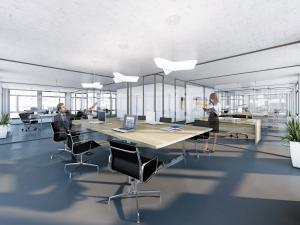 127-300x225 Rendering Büroraum - Visualisierung Bürogeschoss