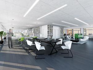 128-300x225 Visualisierung Innenansicht Büroraum