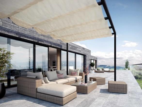 Terrassenansicht