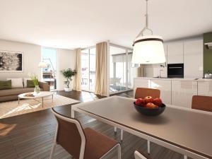 153-300x225 Immobilien Visualisierung Innenbild Essbereich Küche