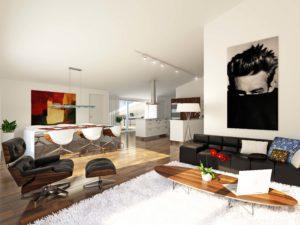 19-300x225 Visualisierung Wohnung Innenraum Immobilien 9