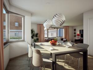 200-300x225 Architekturvisualisierung Innenbild Essbereich Küche