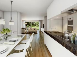 208-300x225 Architekturvisualisierung Innenbild Küche