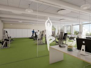 229-300x225 Visualisierung Fitnessraum Sport Center
