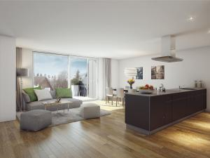 250-300x225 3D Visualisierung moderne Wohnung und Küche