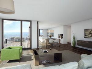 263-300x225 Visualisierung Innenansicht moderne Wohnung und Küche