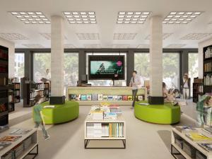 266-300x225 Visualisierung Innenansicht Bücherladen