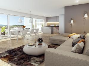 276-300x225 Rendering 3D Visualisierung Wohnung Innenraum 9