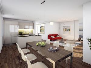 324-300x225 Visualisierung Innenansicht Wohnraum mit Küche 1
