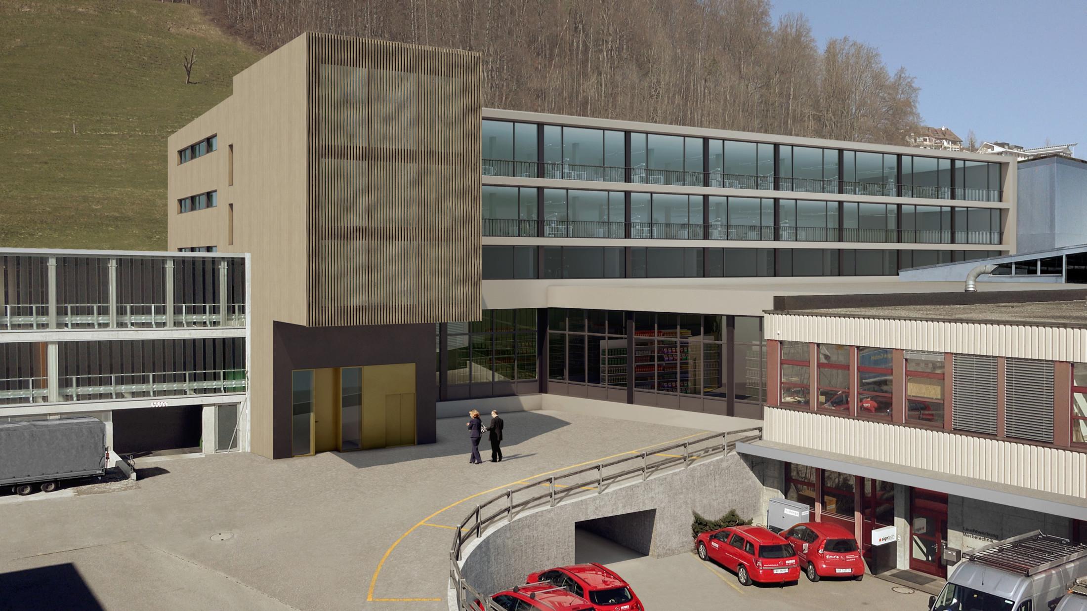 Büro- und Industriebau