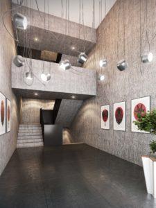 380-225x300 Visualisierung Innenansicht Eingang Bürohaus