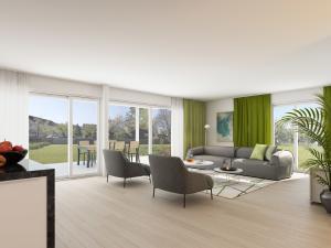 407-300x225 Rendering Visualisierung Wohnung Innenraum 9