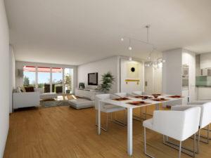 84-300x225 Realistische Visualisierung Innen Raum Immobilien Küche