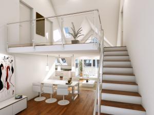 85-300x225 Realistische Visualisierung Innenraum Maisonette