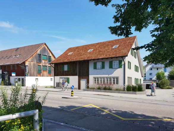Wohn- und Gewerbebau