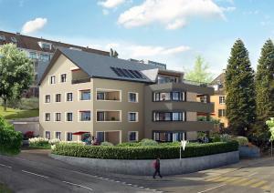 Thalwil-300x212 Visualisierung Projektstudie Neubau MFH in Thalwil