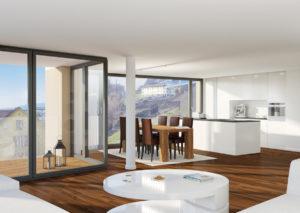 Wohnzimmer_31-03-300x213 Visualisierung Wohnzimmer und Küche