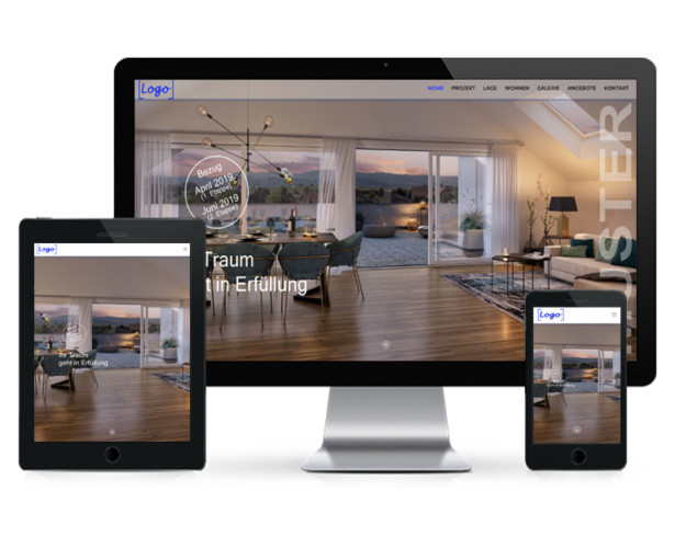 Immobilien Website