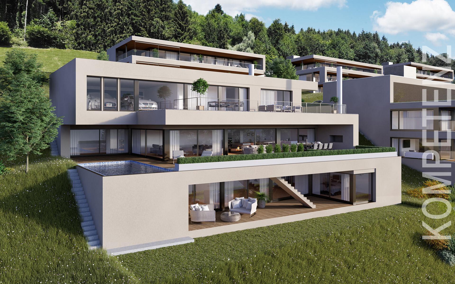 ▷ 3D VISUALISIERUNGEN   Architektur Visualisierung Zürich