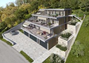 Architekturvisualisierung-Terrassenhaus_Mettau-300x212 Terrassenhaus in Mettau - 3D Architekturvisualisierung
