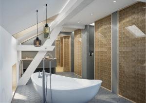 Badezimmer-Dachgeschoss-Visualisierung-300x212 Badezimmer Dachgeschoss - Visualisierung