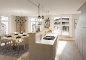 Kueche-nach-Umbau-Visualisierung-300x212 Umbau Küche - Innenansicht Visualisierung