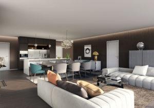 Wohnraum-Minotti-Moebel-3D-Visualisierung-300x212 Wohnraum Küche Minotti - 3D Visualisierung