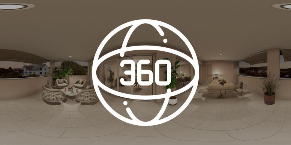 360 Grad Panorama Wohnung – Virtueller Rundgang