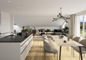3D-Visualisierung-Kueche-MFH-K-am-Albis-300x212 3D-Visualisierung Küche MFH Kappel am Albis